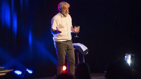Carlos Blanco ofrecerá un monólogo en el auditorio del castillo de Ribadavia