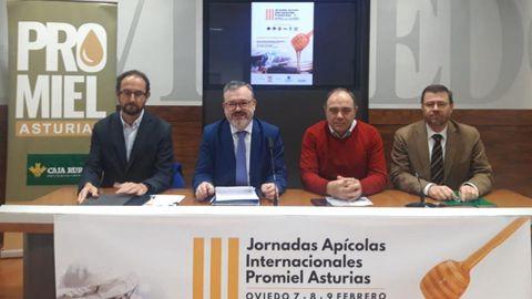 Presentación de las las III Jornadas Apícolas Internacionales  de Oviedo