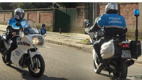 Policia local de Langreo