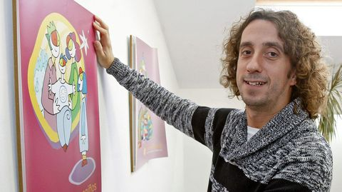 Roberto Antón Santiago, coordinador de la Fundación Meniños