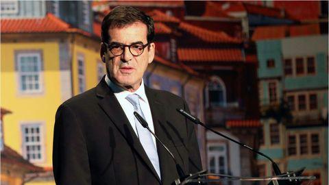 El alcalde de Oporto, Rui Moreira, durante su intervención el pasado enero en el Forum Eurocities celebrado en Oporto
