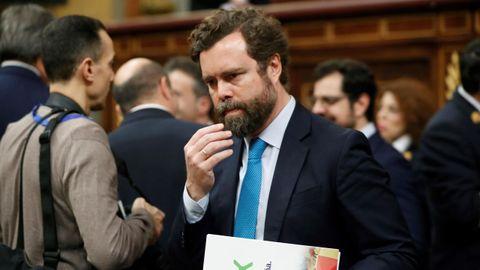 Ivan Espinosa de los Monteros, portavoz de Vox en el Congreso