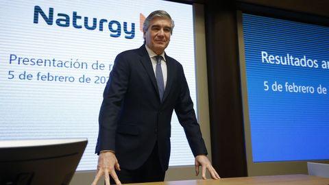 Francisco Reynés presidente el grupo Naturgy desde el 2018