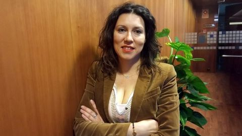 La diputada de Podemos Asturies, Nuria Rodríguez