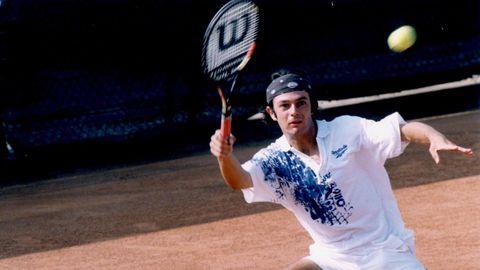 Burrieza, en una imagen de archivo durante su etapa como jugador