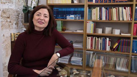 María Dolores Lozano participa este viernes en un congreso de Afundación