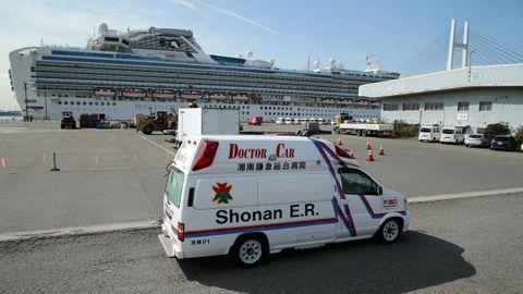 Crucero japonés con enfermos por coronavirus