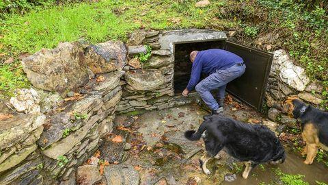 La Fonte de Cartoiro es otro manantial por el el que pasa la ruta