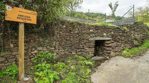 La Fonte do Requeixo es una mina o manantial subterráneo, como otros que existen en la parroquia