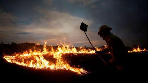 Los graves incendios en el Amazonas generaron grandes críticas a Bolsonaro