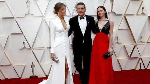 Antonio Banderas, Nicole Kimpel y Stella Banderas