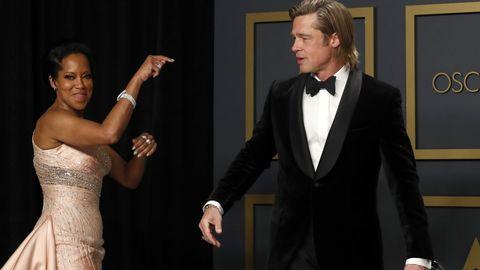 Brad Pitt y Regina King