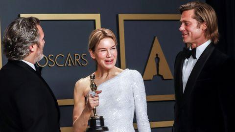 Joaquin Phoenix, Renee Zellweger y Brad Pitt