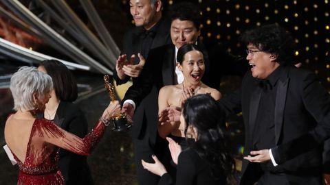 «Parásitos», de Bong Joon Ho, ganó el Óscar a la mejor película