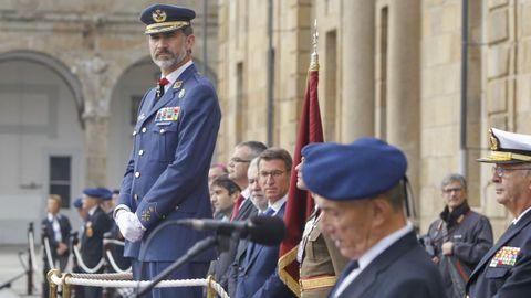 Felipe VI, en una imagen durante su visita al Arsenal de Ferrol en noviembre del 2016