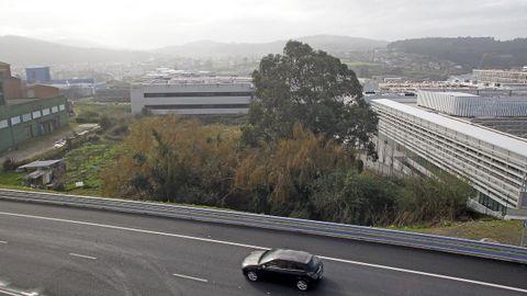 La nueva parcela de Inditex servirá para ampliar la fachada de su conjunto industrial