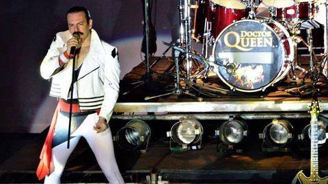 Dr. Queen llevan veinte años ofreciendo conciertos en los que recrean el repertorio de la mítica banda