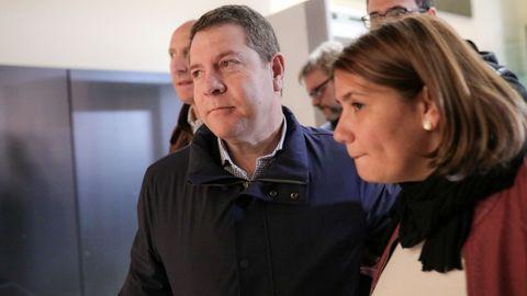 El presidente de Castilla-La Mancha, Emiliano García Page, este sábado, en el Comité Federal del PSOE