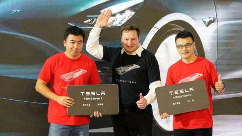 En la imagen, Elon Musk, de Tesla