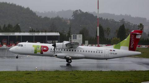 TAP trae a Santiago la ruta de Lisboa que en el 2018 dejó de operar en Peinador y Alvedro, en la foto