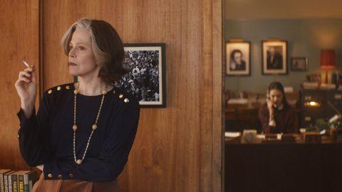 Sigourney Weaver y Margaret Qualley, en el filme «Mi año con Salinger», dirigido por el cineasta quebequés Philippe Falardeau