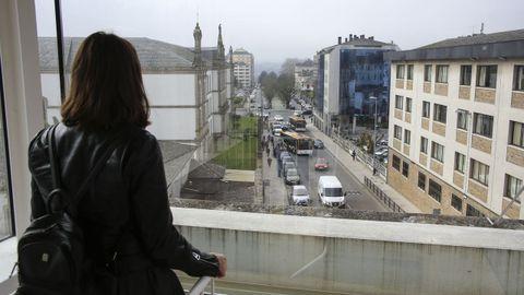Ofrece vistas inéditas de la ciudad de Lugo