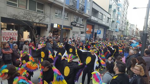 Desfile de Entroido por Sarria