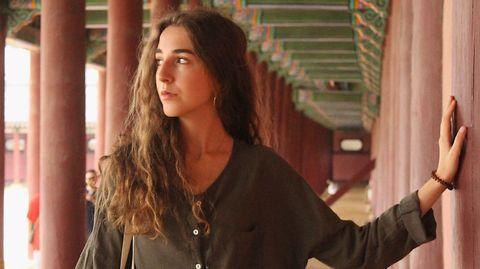 Lucía Gil, estudiante de la UDC