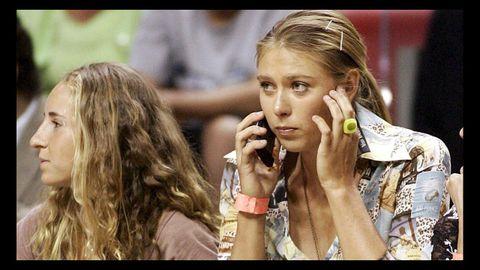 Aficionada a otros deportes, se la vio en la cancha de los Miami Heat viendo un partido de la NBA frente a los Bulls de Chicago.