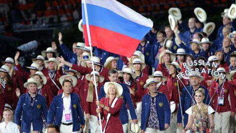 Fue la abanderada rusa en la ceremonia de apertura de los Juegos Olímpicos de Londres.