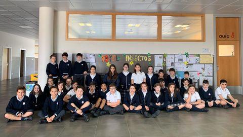 Alumnos del colegio Miraflores realizaron un Hotel de Insectos
