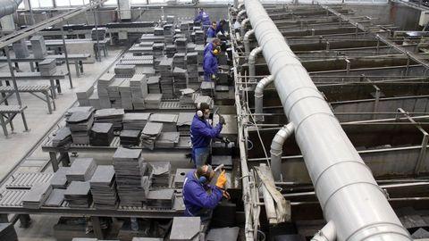 La pizarra es el producto que más se exporta desde Oruense hacia otros mercados