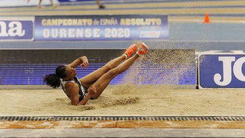El Campeonato de España de Atletismo invade Ourense .Un espectacular ambiente rodeó a los primeros títulos absolutos de pista cubierta que se dirimieron en Galicia
