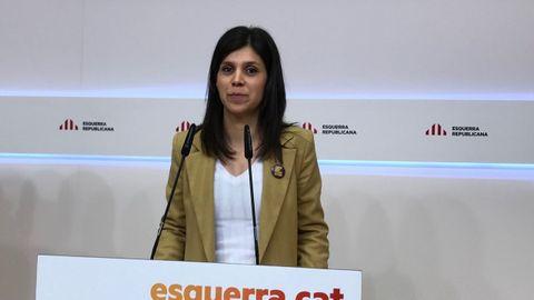 Marta Vilalta, secretaria general adjunta de ERC