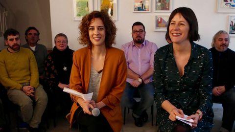 Alexandra Fernández y Ana Pontón
