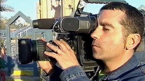 José Couso murió en el hotel Palestina, de Bagdad, por disparos de tres militares estadounidenses en abril del 2003.