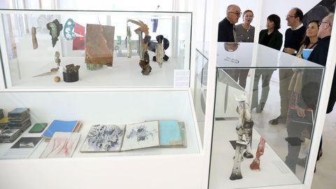 Las salas interiores del museo acogen piezas de la caja negra del artista alemán