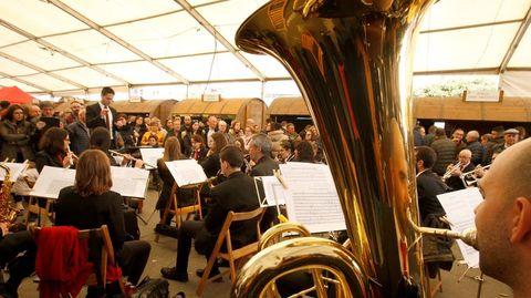 La Banda de Música de Chantada actuó el sábado y volverá a hacerlo este domingo