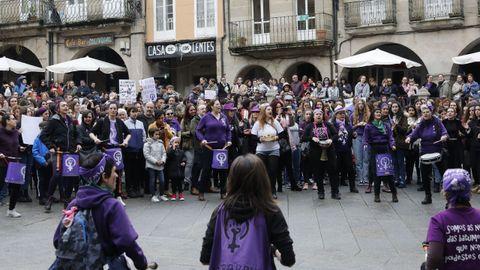 Carrera organizada por el Concello de Ourense para celebrar el 8M