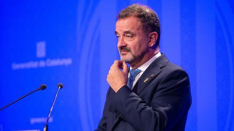 Alfred Bosch, exconsejero de Acción Exterior de la Generalitat