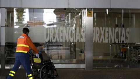 Imagen de archivo de las urgencias del Chuac