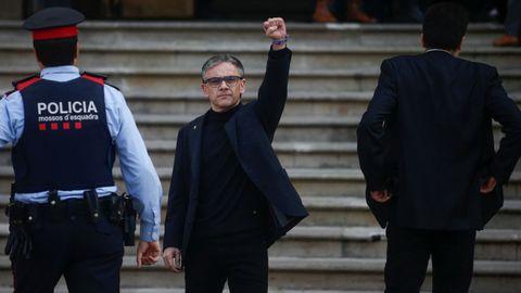 El ex secretario general de Economia de la Generalitat, Josep Maria Jové, ante el Tribunal Superior de Justicia de Cataluña