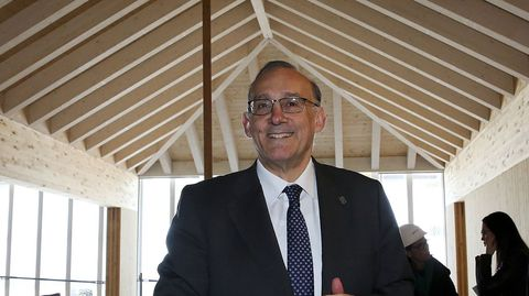 El rector de Vigo, Manuel Reigosa