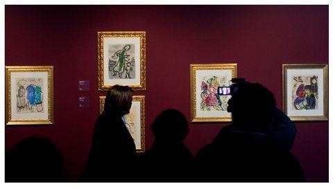 Chagall es uno de los artistas plásticos más relevantes e inclasificables del siglo XX