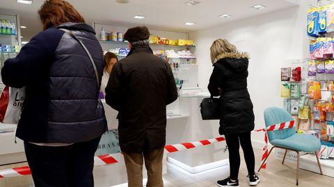 Una farmacia del centro de Oviedo