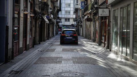 Galicia se vacía ante el estado de alarma
