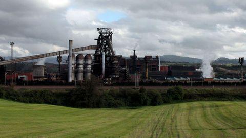 Instalaciones de ArcelorMittal en Gijón