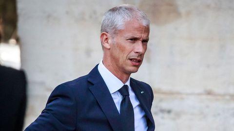 El ministro francés de Cultura, Franck Riester, también ha dado positivo en coronavirus