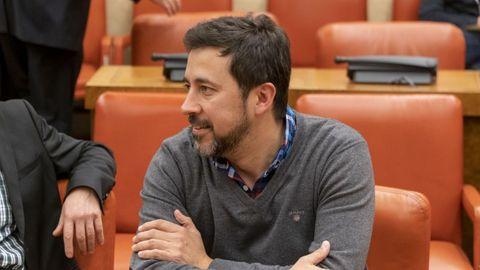 Antón Gómez-Reino, candidato de Galicia en Común a la presidencia de la Xunta