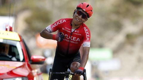 Nairo Quintana, en una etapa de la reciente París-Niza